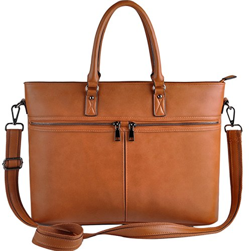 Laptop Tote Bag,Women Business Laptop Bag Up to 15.6 Inch,Solid Reliable 1