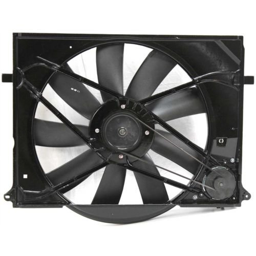 MAPM Premium Quality CL-CLASS 00-02 RADIATOR FAN SHROUD ASSEMBLY, Fan and Motor, (215) (220) Chassis by Make Auto Parts Manufacturing