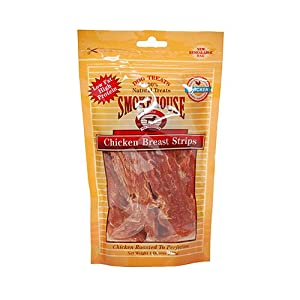 delicate SMOKEHOUSE PET PRODUCTS 25136 Chick Strips Treat for Dogs, 4-Ounce