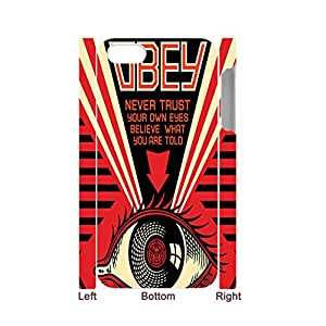 Printing Obey Peace And Justice Ornament For Iphone 5S Apple Nice Phone Case Choose Design 1-4