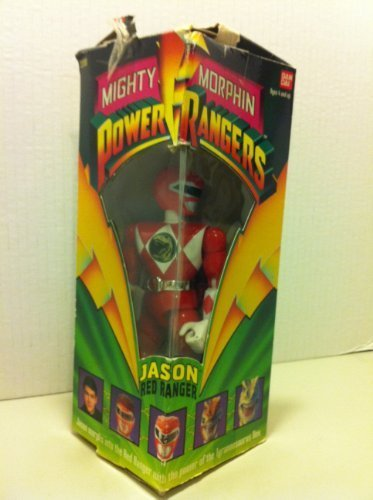 Original Mighty Morphin Power Rangers JASON RED RANGER 8