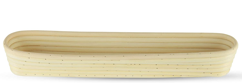 Baguette Proofing Basket 17 Inch Oblong Rattan Bread Rising Banneton COMINHKR095723