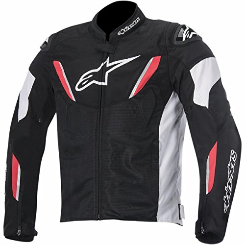 - Alpinestars T-GP R Air Men's Street Motorcycle Jackets - Black/White/Red/X-Large