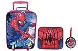 Marvel Boys' Spiderman 3pc Set, Blue