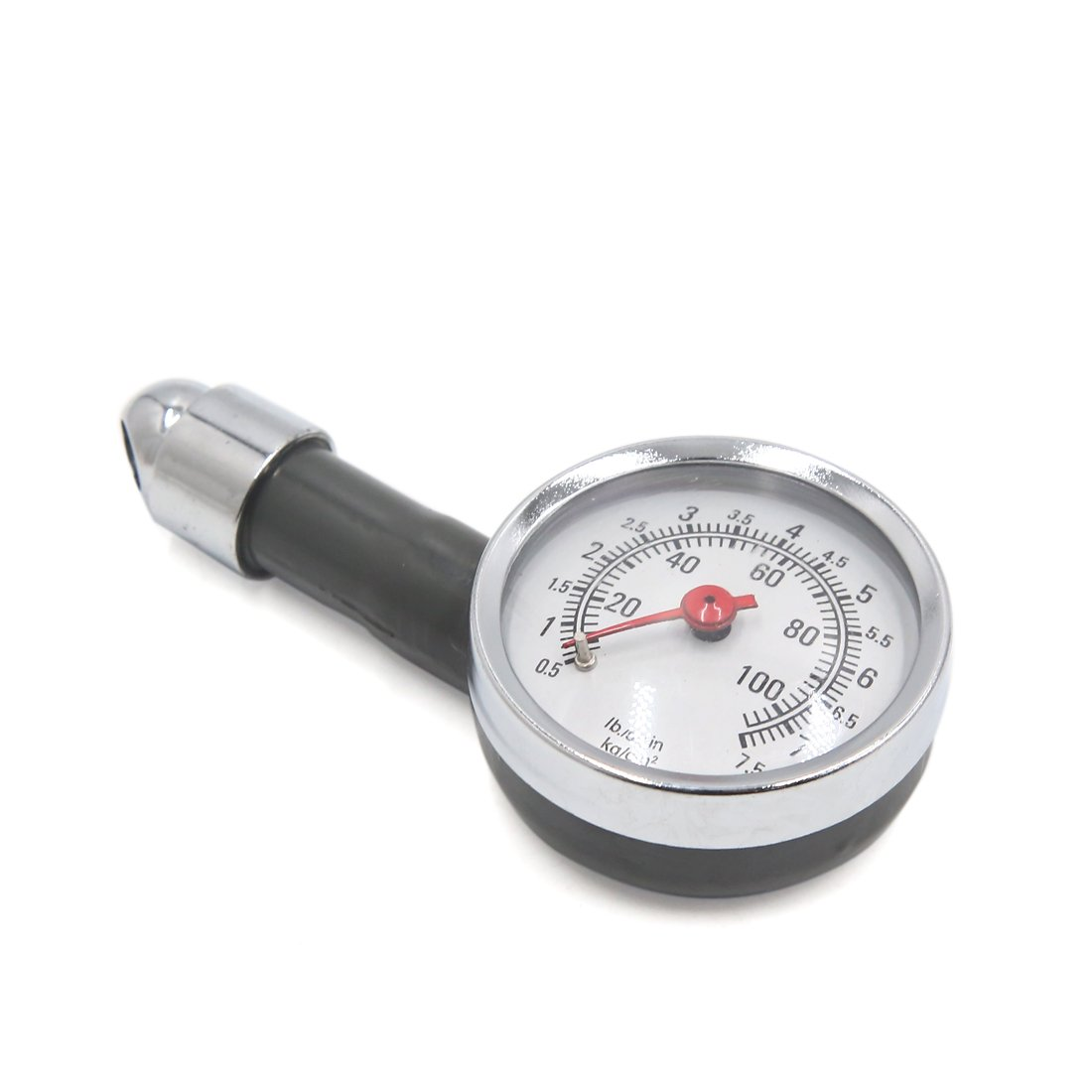 uxcell Universal Tire Air Pressure Gauge Dial Meter Tester Manometer for Motorcycle Car