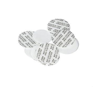 100PCS Pressure Sensitive Lines Foam Safety Tamper Resistant Seals for  Cosmetic Bottle/Jar Cap