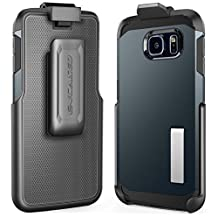 Encased® Belt Clip Holster for Galaxy S6 & S6 Edge Spigen TOUGH ARMOR Case (case is not included)