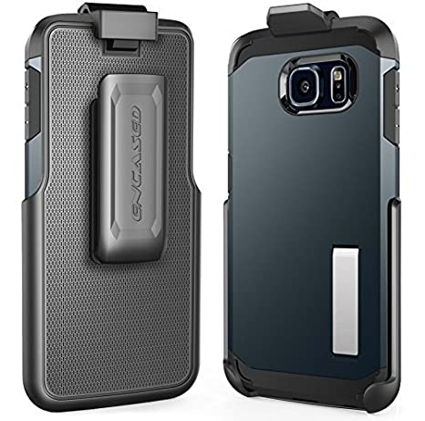 Encased® Belt Clip Holster for Galaxy S6 & S6 Edge Spigen TOUGH ARMOR Case (case is not included) ENC39092