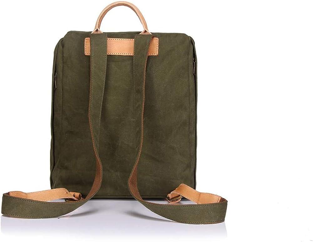 Retro Mens Bag Backpack Travel Large Capacity Wear Canvas Bag Backpack Mens Shoulder Bag