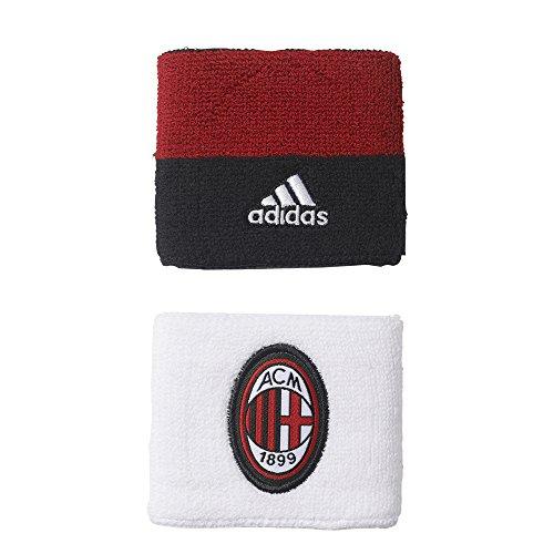 adidas Acm Guantes AC Milan, Hombre rojo (rojvic / negro / blanco)