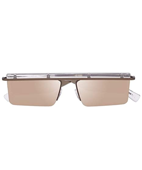 6b99a4f2334 Le Specs The Flex Sunglasses One Size Bronze  Amazon.co.uk  Clothing