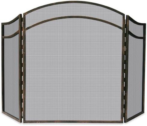 Uniflame 3 Fold Black Top Leaf Screen