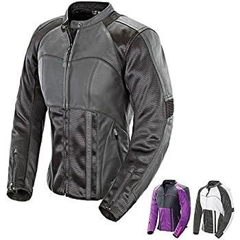 Grey//Silver, Small Joe Rocket 1512-5602 Heartbreaker 3.0 Womens Textile Motorcycle Jacket
