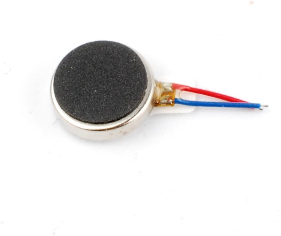 NW 10 pcs Coin Vibration Motor 3V 66mA Common Used Micro Vibration Motor for Cell Phone Toy