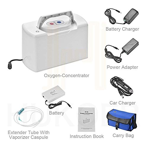 SageTech Portable O2 Concentrator Generator Air Purifier for sale  Delivered anywhere in USA