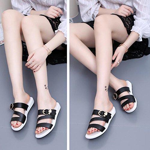 pantalons Chaussons Femmes chaussures femmes HAIZHEN pour d 3cm qzPwg