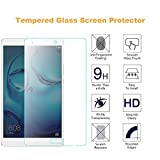 Huawei Mediapad M3 8.4 Screen Protector, Pasonomi [9H Hardness] [Crystal Clear] [Scratch-Resistant] Premium Tempered Glass Screen Protector Film for Huawei MediaPad M3 8.4 Inch Tablet