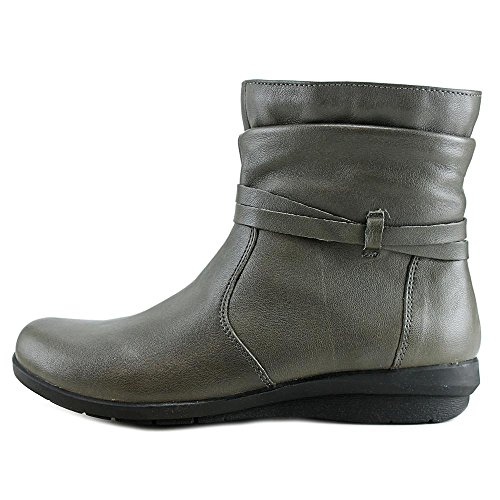 Boots Ankle Erin Charcoal Leather Womens Array Closed Fashion Toe ROXgxw