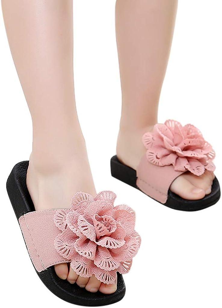 Amitafo Chaussons Garcon Filles Pantoufles de Bain Enfants Claquettes Chaussures de Plage Chaussures pour Piscine Antid/érapant Douche Chaussons Mules Tongs