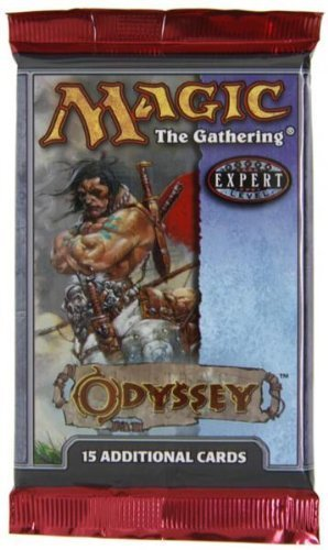 Magic The Gathering Odyssey Booster Pack [Sealed] by Magic  the Gathering