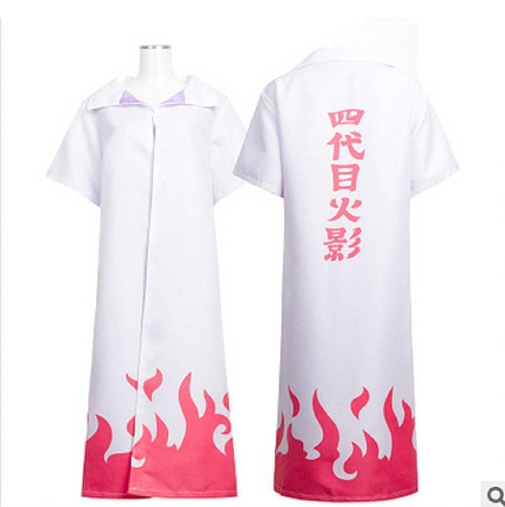 Fuji 4th Hokage Cosplay Costume Japanese Anime Naruto Cosplay
