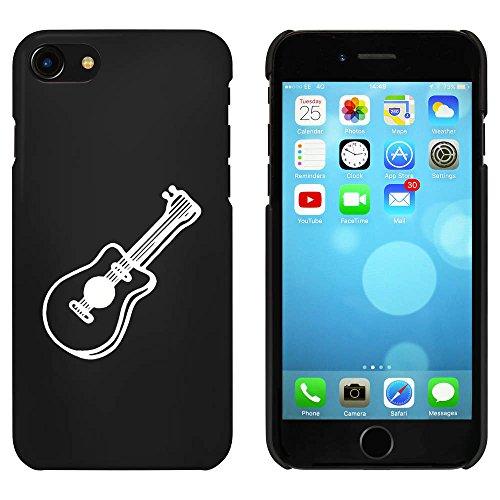 Noir 'Guitare Acoustique' étui / housse pour iPhone 7 (MC00088356)