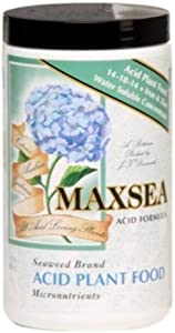 Maxsea Acid Plant Food 14 - 18 - 14 Iron And Zinc Water Soluble Concentrate