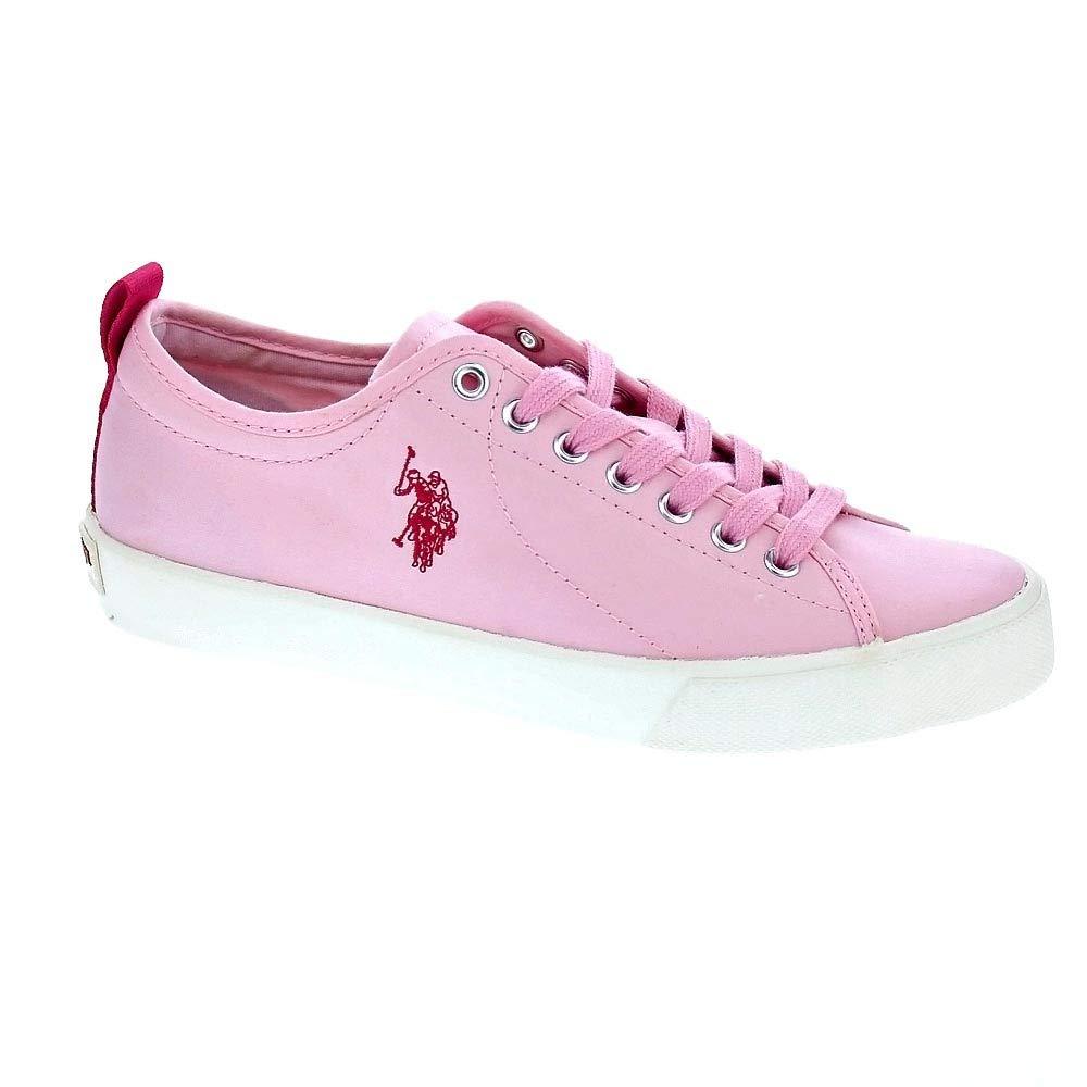 US Polo Tania - Zapatillas Bajas Mujer Rosa: Amazon.es: Deportes y ...