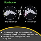 Povihome Toe Separators, 6 Pack Deluxe Gel Toe
