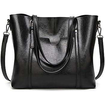 16fee383d8 Amazon.com  LoZoDo Women Top Handle Satchel Handbags Shoulder Bag ...