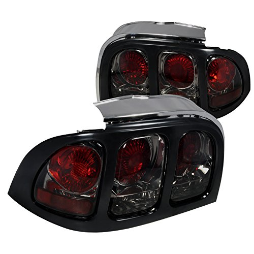 Spec-D Tuning LT-MST94G-APC Ford Mustang Altezza Tail Lights Smoked V6 Gt V8 Smoked Tail Lights Mustang