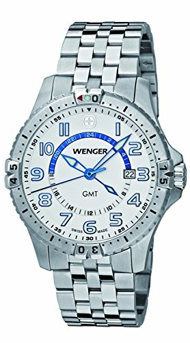 WENGER watch Sukuadoron GMT 77079 men's [regular imported goods]