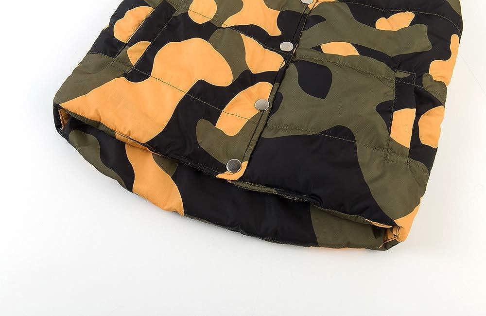 Memela Baby Clothes,Kid Boys Girl Infant Camouflage Jackets Baby Vest Warm Waistcoat Clothes Coat
