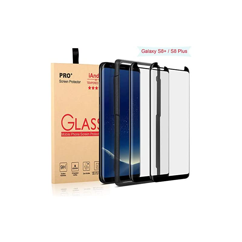 [2-PACK] Galaxy S8 Plus Screen Protector