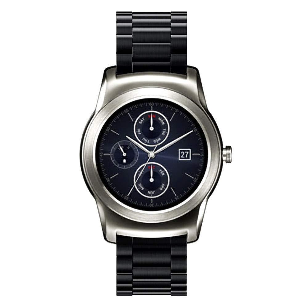 Amazon.com : Leless Fashion 20MM Steel Stainless Metal ...