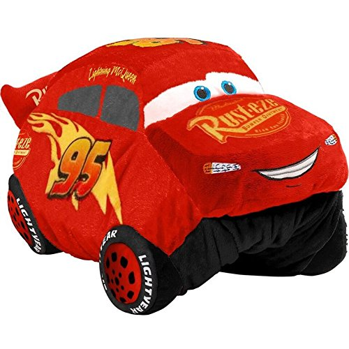 Pillow Pets Disney Pixar Cars 3, Lightning Mcqueen, 16