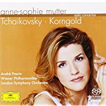 Tchaikovsky / Korngold: Violin Concertos by Anne-Sophie Mutter (2004-10-11)