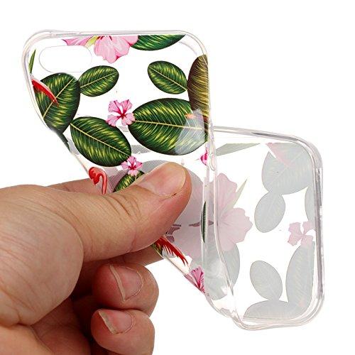 Hülle iPhone SE 5 5G 5S TPU schutz silikonhülle, niedlichen cartoon bild transparent handy Hülle für iPhone SE 5 5G 5S + schlüsselanhänger (* / 138) (3) 8