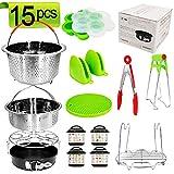 15Pcs Pressure Cooker Accessories Pot fit 5,6,8Qt Instant