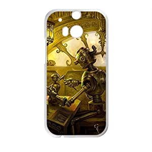 DAZHAHUI Artistic antique house Cell Phone Case for HTC One M8