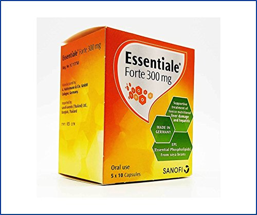 Essentiale Forte 300 MG (50 Hard Capsules in Blister) Each Capsule Contain EPL (Essential Phospholipids from Soya-Bean) 300 MG, A Preparation Supplement for Liver Care and Revitalize by Essentiale Forte 300 MG (Image #7)