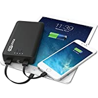 Pocket Juice 2-in-1 Portable Charger 12,000 mAh Charges Phones and Tablets