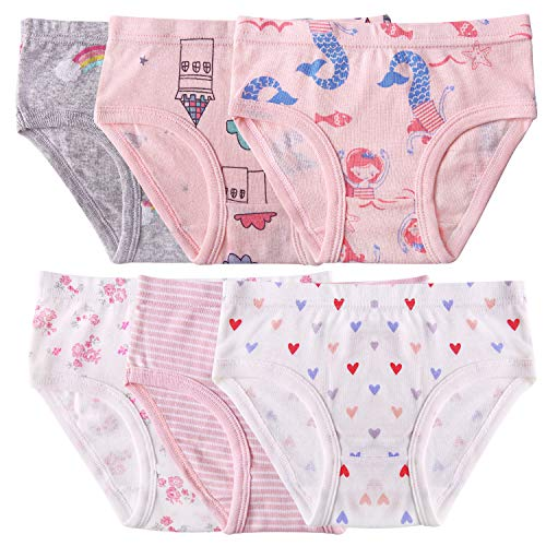 Seekay Girls Underwear Briefs, Organic Cotton, Tagless,5-6 Years by Seekay (Image #2)