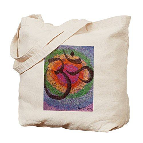 CafePress inspirado en–para el chakra om–Gamuza de bolsa de lona bolsa, bolsa de la compra