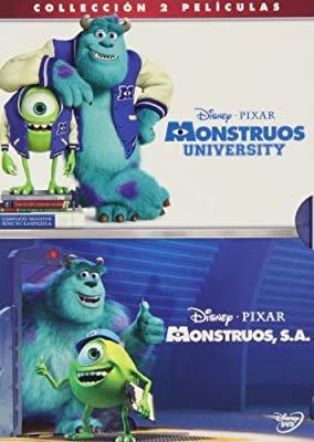 Pack: Monstruos University + Monstruos [DVD]: Amazon.es: Dibujos ...