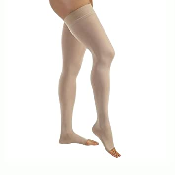 7ab0f2ad50 Image Unavailable. Image not available for. Color: Jobst Relief THIGH HIGH  - Extra Firm Compression 30-40mmHg L - Closed-Toe