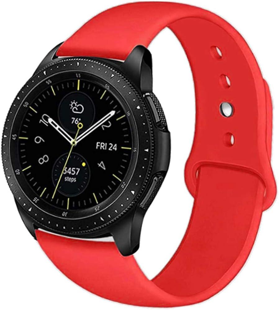 18 Mm 20 Mm 22 Mm Band Für Samsung Galaxy Gear Sport Watch 42 Mm 46 Mm Quick Release Silikon Armband Für Amazfit Huawei 2 Ticwatch Fossil Q Pebble Tim Withings Damen Herren Armbanduhr Bekleidung