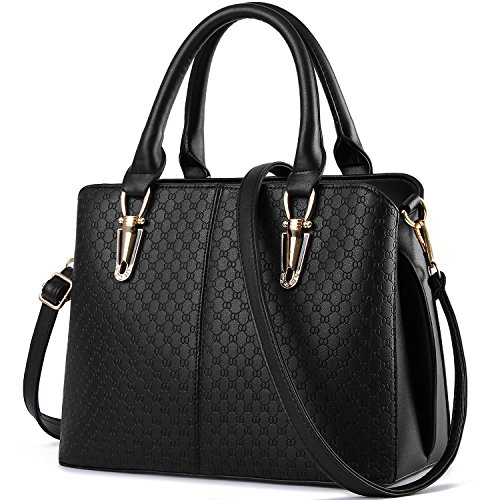 Satchel Tcife Black Shoulder Bags And Handbags Tote Women For Purses rrnxUfqzdH