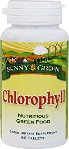Sunny Green Chlorophyll, 90 Tablets