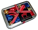 Gourmet Chocolate Assorted Truffles by Cowgirl Chocolates (Assorted Spicy Chocolate, 1/3 lb Truffle Travel Tin)